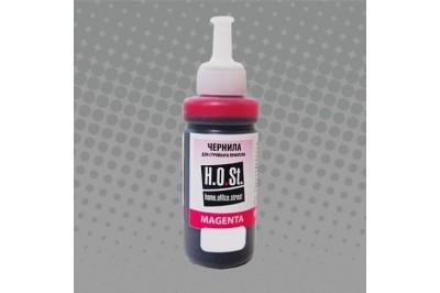 Чернила для Epson L100 L200 100мл Magenta (HOST)