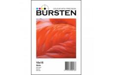 Фотобумага BURSTEN 4R(10х15), Матовая 180гр/м (50 л.)
