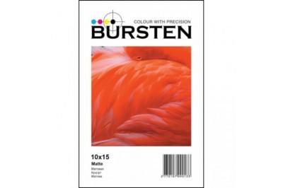 Фотобумага BURSTEN 4R (10х15) Матовая 180гр/м (500 л.)