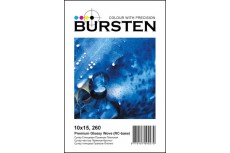 Фотобумага BURSTEN Супер Глянцевая Плетеная,10x15, 260гр/м (100 листов) (RC-base)