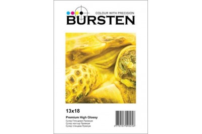 Фотобумага BURSTEN 13х18 Глянцевая Супер-глянец 260гр/м (50 л.)