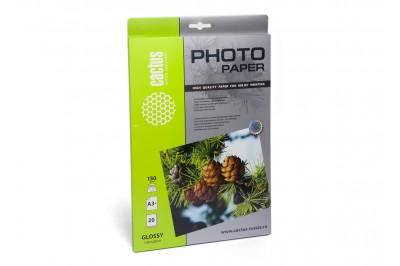 Фотобумага Cactus CS-GA315020 глянцевая, А3+ (329x483), 150 г/м2, 20 листов