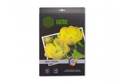 Набор фотобумаги Cactus различной плотности и фактуры, А4