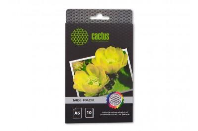 Набор фотобумаги Cactus различной плотности и фактуры, А6