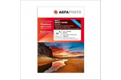 Фотобумага А4 Матовая 130g 50 листов AGFA