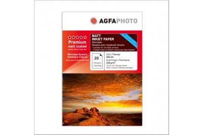 Фотобумага А4 Матовая двухсторонняя 220g 20 листов AGFA