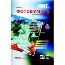 Фотобумага матовая односторонняя 170гр/м, 4R (10х15), 700л, (M170-7004R) IST