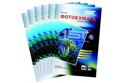 Фотобумага матовая односторонняя 190гр/м, 4R (10х15), 600л, (M190-6004R) IST