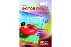 Фотобумага Premium сатин односторонняя 260гр/м, 4R (10х15), 50л, (Sa260-504R) IST