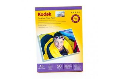 Фотобумага Kodak Глянцевая 230г/м2  50 листов. А5