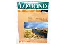 Фотобумага матовая двусторонняя 100гр/м, А4 (21х29.7), 100 л, 0102002, Lomond