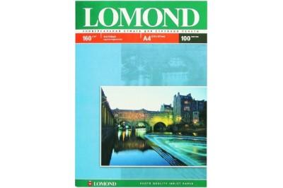 Фотобумага матовая односторонняя 160гр/м, А4 (21х29.7), 100 л, 0102005, Lomond