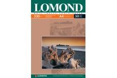 Фотобумага матовая односторонняя 230гр/м, А4 (21х29.7), 50 л, 0102016, Lomond