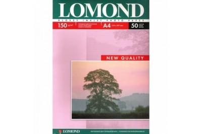 Фотобумага глянцевая односторонняя 150гр/м, А4 (21х29.7), 50 л, 0102018, Lomond