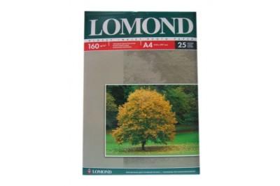 Фотобумага глянцевая односторонняя 160гр/м, А4 (21х29.7), 25 л, 0102079, Lomond