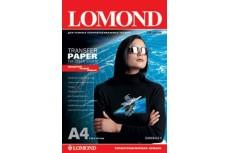 Термотрансферная бумага для тёмных тканей 140гр/м, А4 (21х29.7), 10 л, 0808421, Lomond