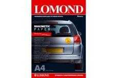 Бумага глянцевая с магнитным слоем Magnetic 660гр/м, А4 (21х29.7), 2 листа, 2020345, Lomond