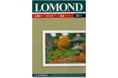 Фотобумага Lomond 0102135 глянцевая односторонняя А4, 240г/м2, 50л