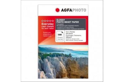 Фотобумага AGFA Глянцевая 180g 500 листов 4R(102x152)