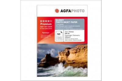 Фотобумага AGFA Глянцевая 240g 50 листов  A4
