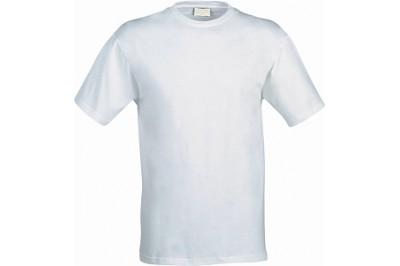 Футболка мужская белая, размер M (полиэстер), для сублимационной печати