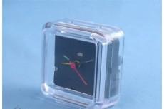 Часы-будильник Б-1 акриловые под полиграфическую вставку, размер вставки 53х49мм
