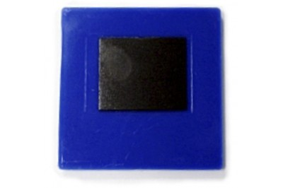 Заготовка акрилового магнита 65х65 Синий 25шт.