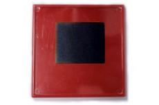 Заготовка акрилового магнита 65х65 Красный 25шт.