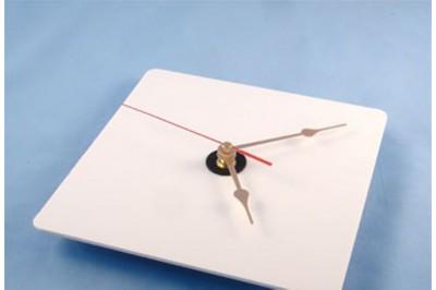 Часы пластиковые Ч-2 под полиграфию, квадрат, 195x195мм