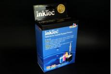 Заправочный набор HPI-4060C Color  (цветной) для HP 121 (CC643HE)/ 121XL (CC644HE), HP 901 (CC656AE) (в наборе: чернила C,M,Y по 25 мл, заправочный зажим) InkTec