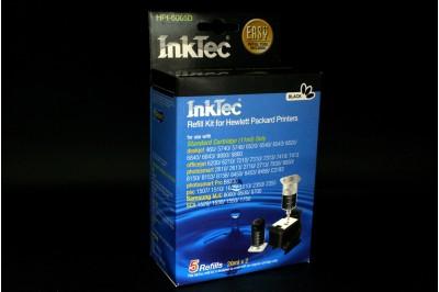 Черный заправочный набор HPI-6065D (94/338/131/852), Только для стандартного картриджа, Чернила 20мл х 2  + Заправочный зажим, InkTec
