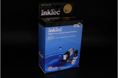 Заправочный набор HPI-7017D Black pigment (черный) для HP CB317 (564/ 364/ 178/ 862), CB 322 (564XL/ 364XL/ 178XL/ 862XL) (в наборе: чернила 20 мл x 2, заправочный зажим) InkTec