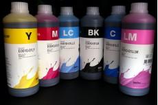 Чернила для Epson E0010-01L, комплект 6 цветов по 1 литру