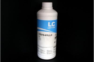 Чернила для HP H3070-01LLC (Light cyan, светло-синие, голубые, 177), 1L, InkTec