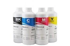 Комплект чернил InkTec H0005-H0006 (пигментные и водорастворимые), 4 x 1 л, для HP 21, 56, 27 и НР 22, 57, 28