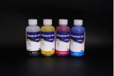 Комплект чернил InkTec C2010-C2011 (пигментные и водорастворимые), 4 x 100 мл, для Canon PG-510, PG-512, CL-511, CL-513