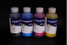 Комплект чернил InkTec C5025-C5026 (пигментные и водорастворимые), 4 x 100 мл, для Canon PGI-225BK/ 425BK/ 525BK/ 725BK, CLI-226C/ 426C/ 526C/ 726C/M/Y