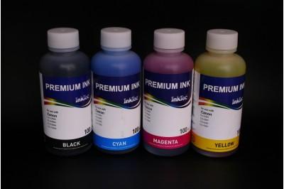 Комплект чернил InkTec C5026-100MB/C/M/Y (водорастворимые), 4 x 100 мл, для Canon CLI-226BK/ 426BK/ 526BK/ 726BK/ C/M/Y