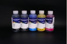Комплект чернил InkTec C5025-C5026 (пигментные и водорастворимые), 5 x 100 мл, для Canon PGI-225BK/ 425BK/ 525BK/ 725BK, CLI-226BK/ 426BK/ 526BK/ 726BK/ C/M/Y