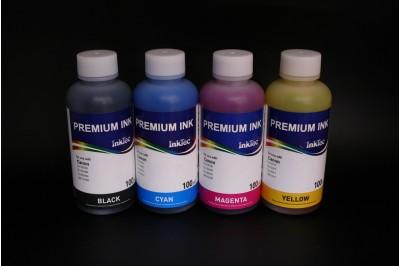 Комплект чернил InkTec C9021-100MBS/ CS/ MS/ YS (водорастворимые), 4 x 100 мл, для Canon CLI-221BK/ 521BK/ 821BK/ 321BK/ C/M/Y