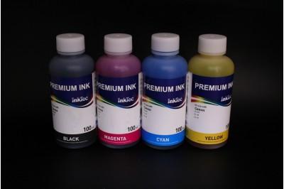 Комплект чернил InkTec C908-100MB/C/M/Y (водорастворимые), 4 x 100 мл, для Canon CLI-8BK/ C/M/Y, CL-52, CL-41, CL-51