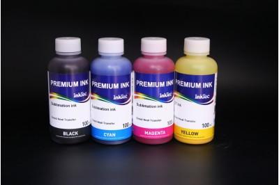 Чернила сублимационные для Epson Piezo (комплект - 4 цвета по 100 мл, B,C,M,Y ), 100 мл, InkTec