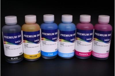 Чернила для Epson E0010-100, комплект 6 цветов по 100 мл.