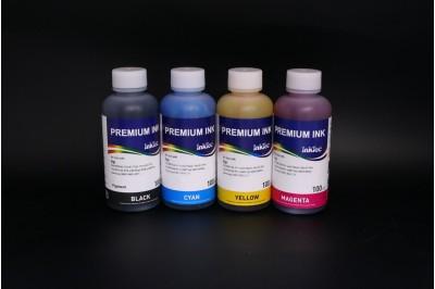 Комплект чернил InkTec H0005-H0006 (пигментные и водорастворимые), 4 x 100 мл, для HP 21, 56, 27 и НР 22, 57, 28