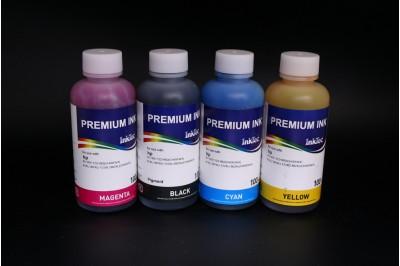 Комплект чернил InkTec H1061-100MB/C/M/Y (пигментные и водорастворимые), 4 x 100 мл, для HP 122 и HP 122XL