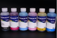 Комплект водорастворимых чернил InkTec H3070-100MB/ C/ LC/ M/ LM/ Y, 6 x 100 мл, для HP 177