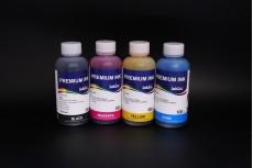 Комплект чернил InkTec H4060-100MB/C/M/Y (пигментные и водорастворимые), 4 x 100 мл, для HP 121 и HP 121XL, HP 901 и HP 901XL