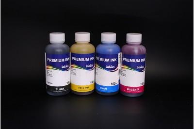 Комплект чернил InkTec H5088-100MB/C/M/Y (пигментные и водорастворимые), 4 x 100 мл, для HP 88 и HP 88XL
