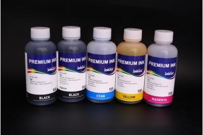 Комплект чернил InkTec H7064-100MB/ MPB/C/M/Y (пигментные и водорастворимые), 5 x 100 мл, для HP 178 и HP 178XL