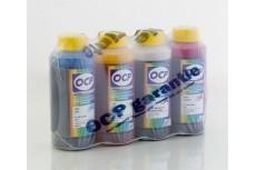 Комплект пигментных чернил OCP (BKP 41, C/M/Y 120) для картриджей HP №10\№11, 4 x 100 гр